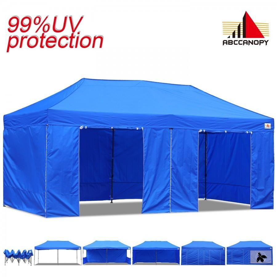 01b7fed5613 Item Overview. Description: ABCCANOPY 10X20 EZ POP UP CANOPY TENT INSTANT  SHELTER COMMERCIAL PORTABLE MARKET CANOPY WITH MATCHING SIDEWALLS ...